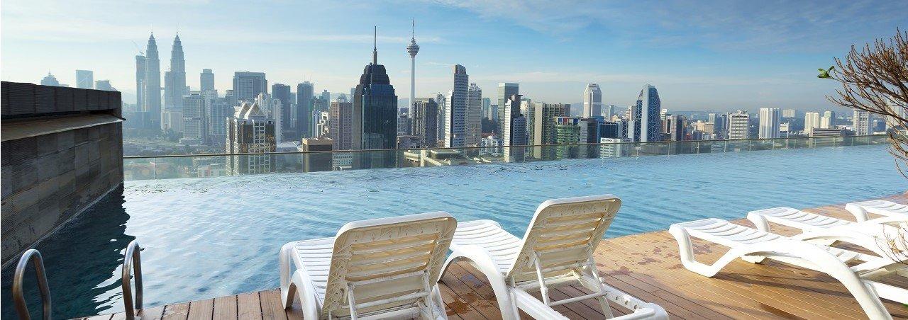 Skyline Kuala Lumpur infinitypool